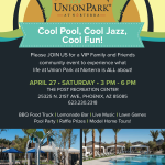Union Park at Norterra Cool Pool, Cool Jazz, Cool Fun Event