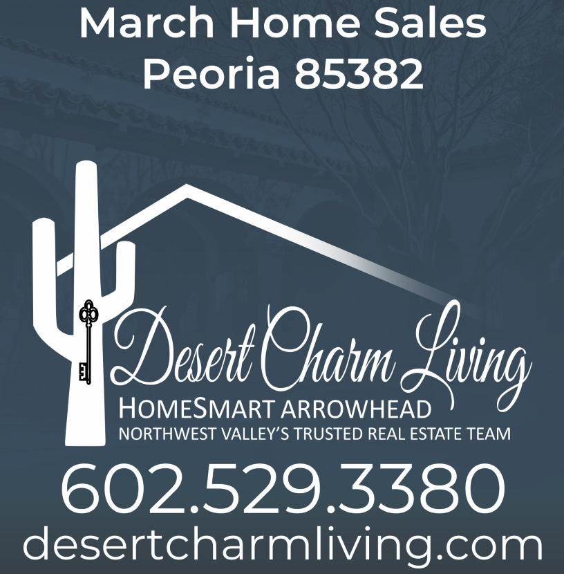 Recently Sold Homes In Peoria 85382 March 2019