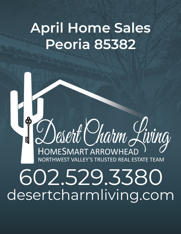 Recently Sold Homes In Peoria 85382 April 2019