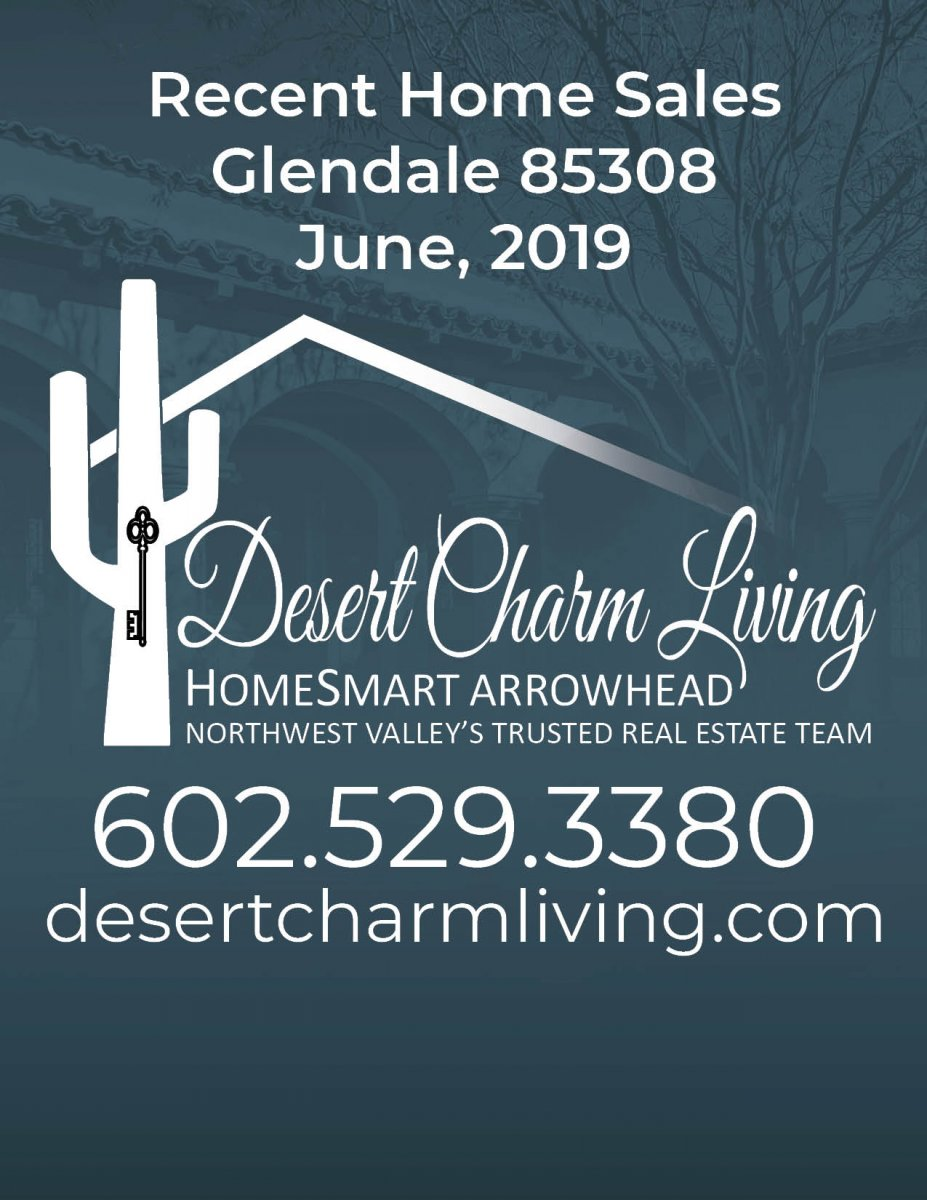 Recently Sold Homes In Glendale 85308 June 2019
