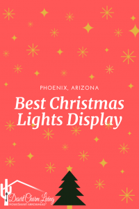 Best Christmas Lights display map holiday season 2019