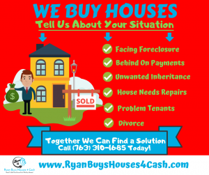 We Buy Houses MN - Sell Your MN House Fast