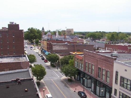 A city view of Rock Hill SC on the sell your house fast in Rock Hill page