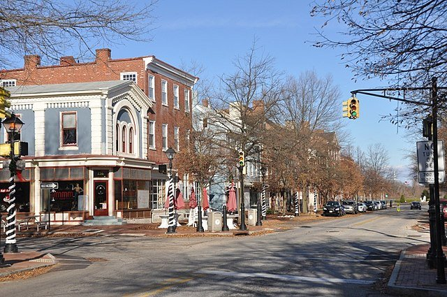 historic district of Burlington New Jersey