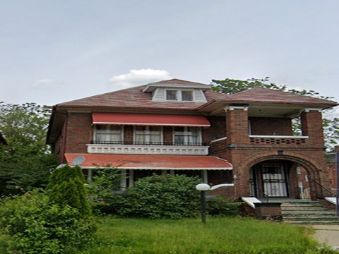 2 story Brick House