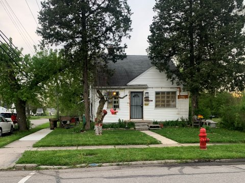 White Shingle Type House for sale in Detroit