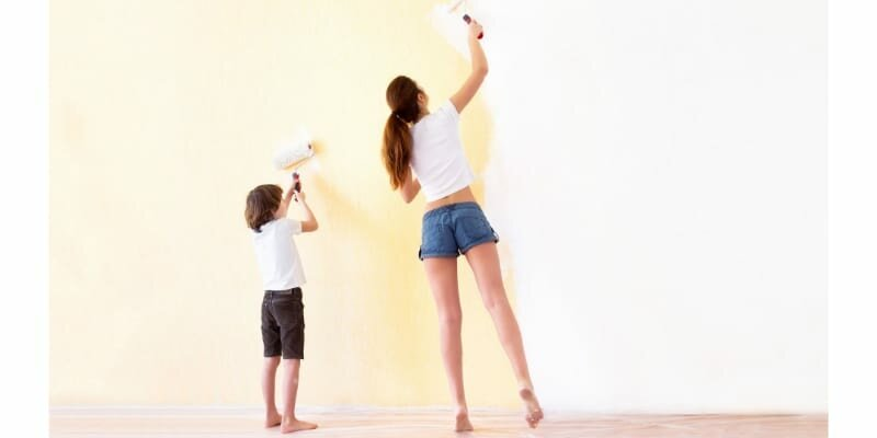 mother_and_son_painting_walls_in_a_new_house