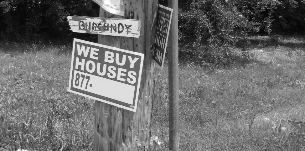 We Buy Houses Signs