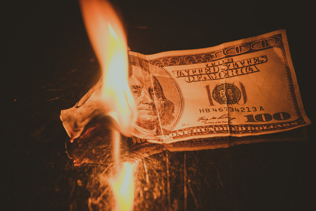 Burning Money when selling your home