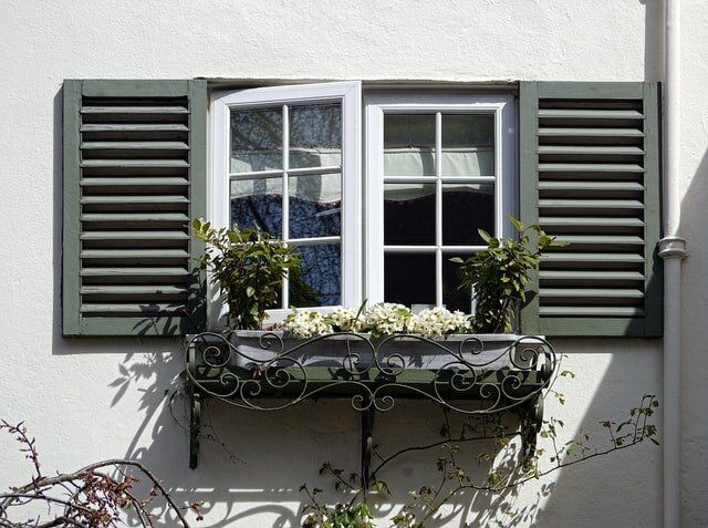 Window boxes as one of the ways to amplify curb appeal