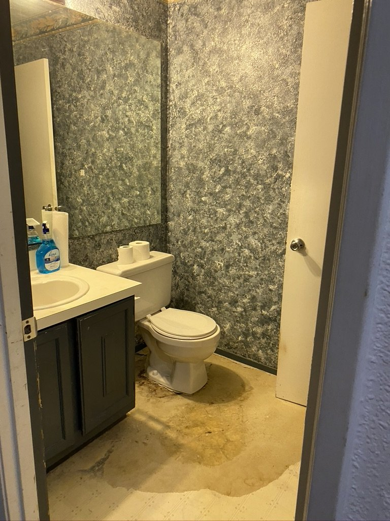 Redmond WA Investment property for sale Bathroom floor