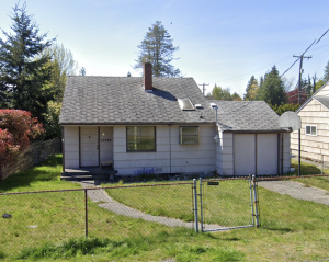 House we bought for cash in North Seattle