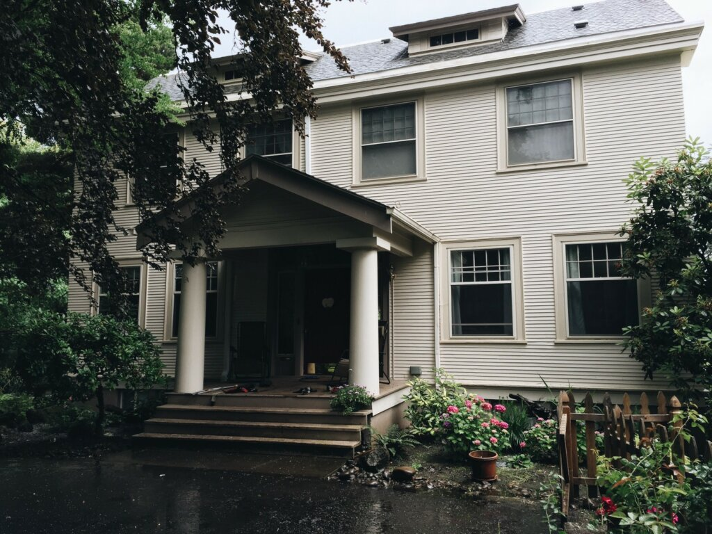 old house inherited