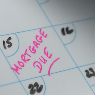 Pay mortgage payment on the due date to avoid late fees or penalties