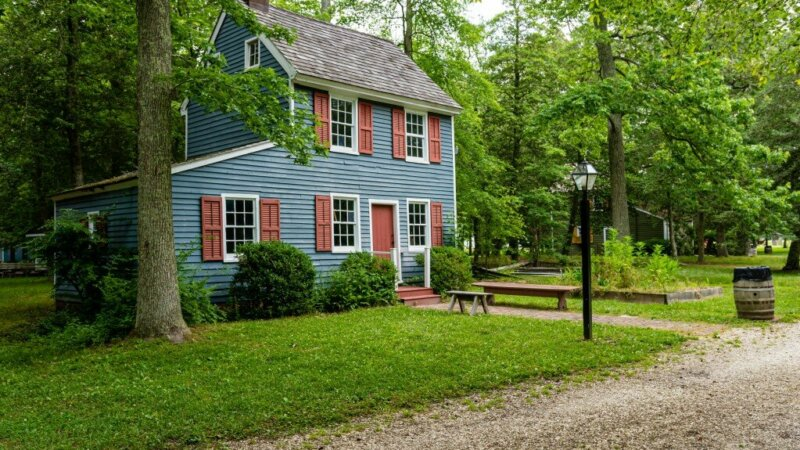 old house in probate