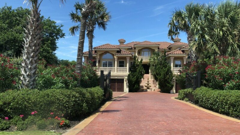 beautiful home with a tax lien