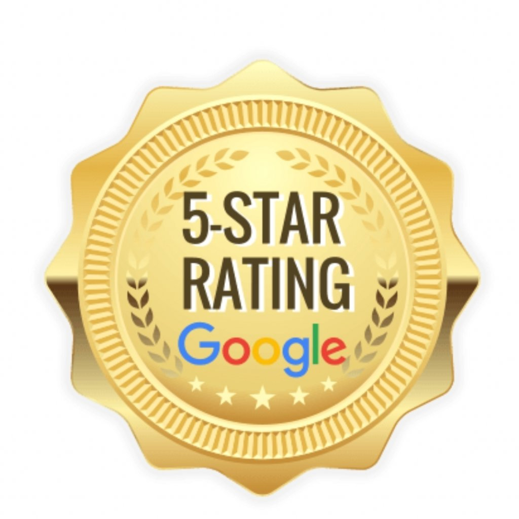 Check Out Our 5 Star Reviews on Google