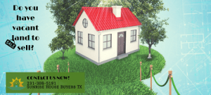 We Buy land in Houston