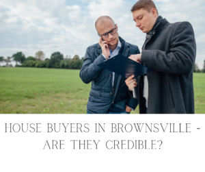 Sell my house fast in Brownsville