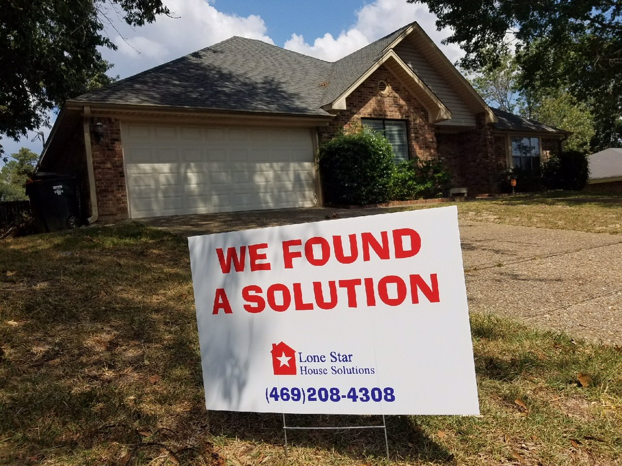 We can buy your Tx house. Contact us today!