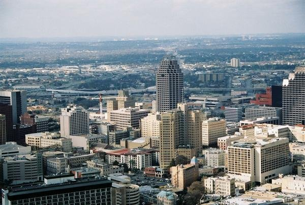 Downtown San Antonio Texas skyline