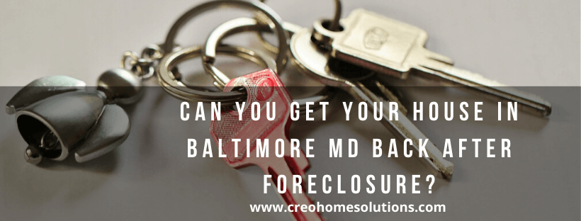 We buy houses in Baltimore MD