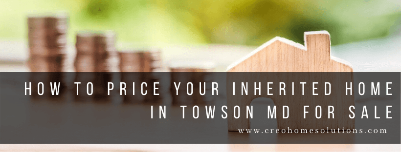 Sell My House In Towson MD