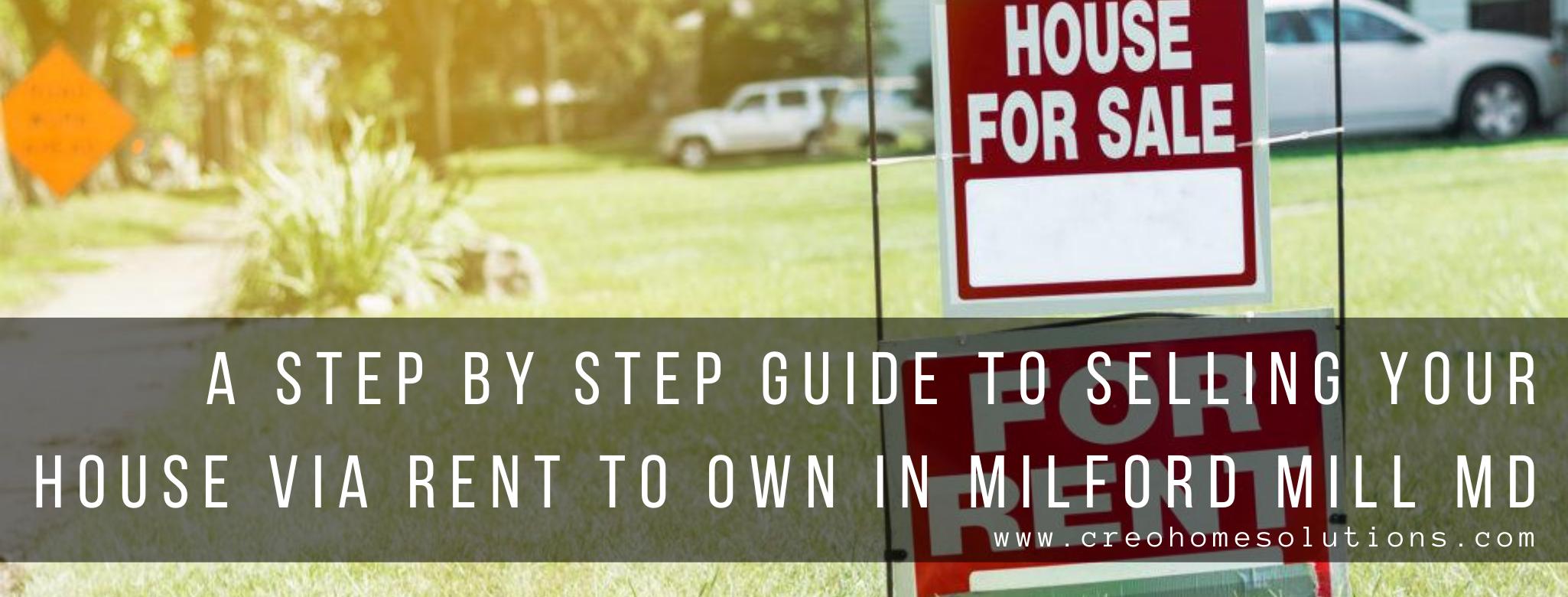 We buy properties in Milford Mill MD