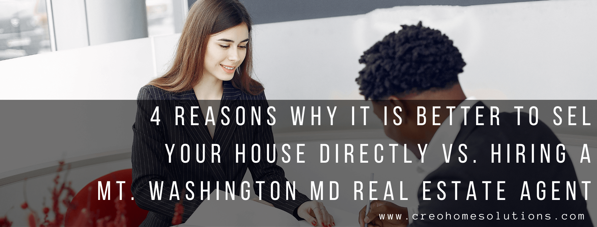 sell my home in Mt. Washington, MD