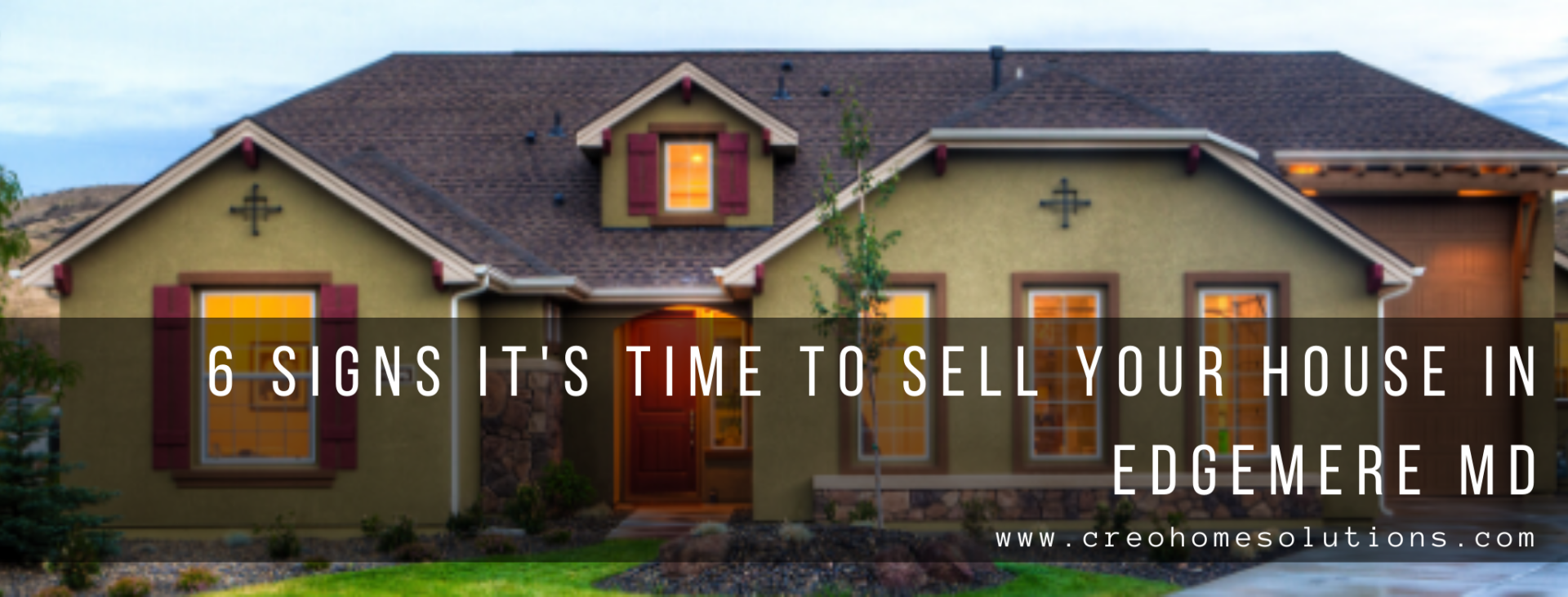 We buy properties in Edgemere MD