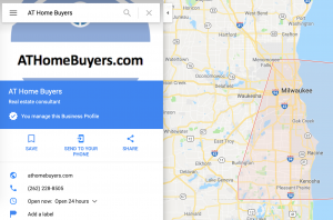 AT Home Buyers Google My Business