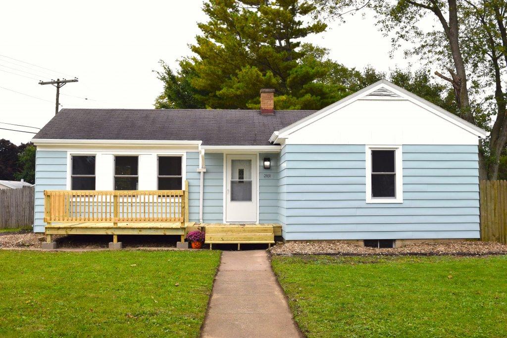 Karen's Renovated Home Front