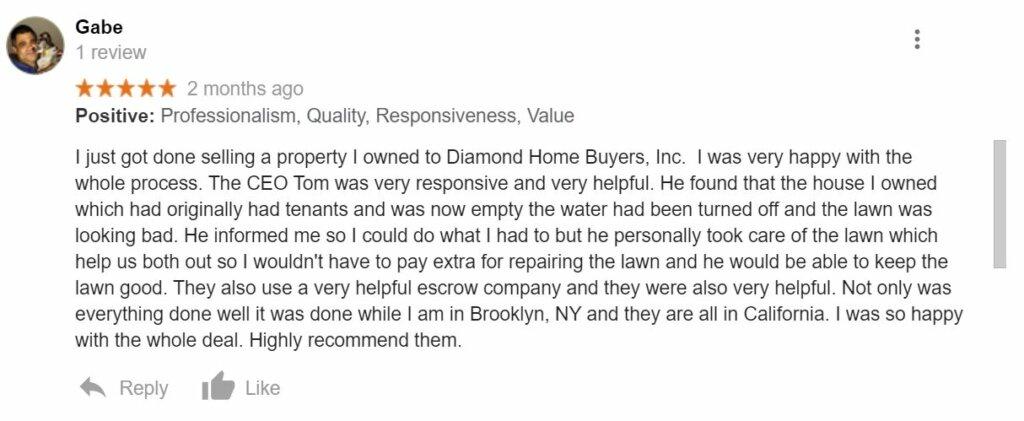 Diamond Home Buyers Inc. Reviews