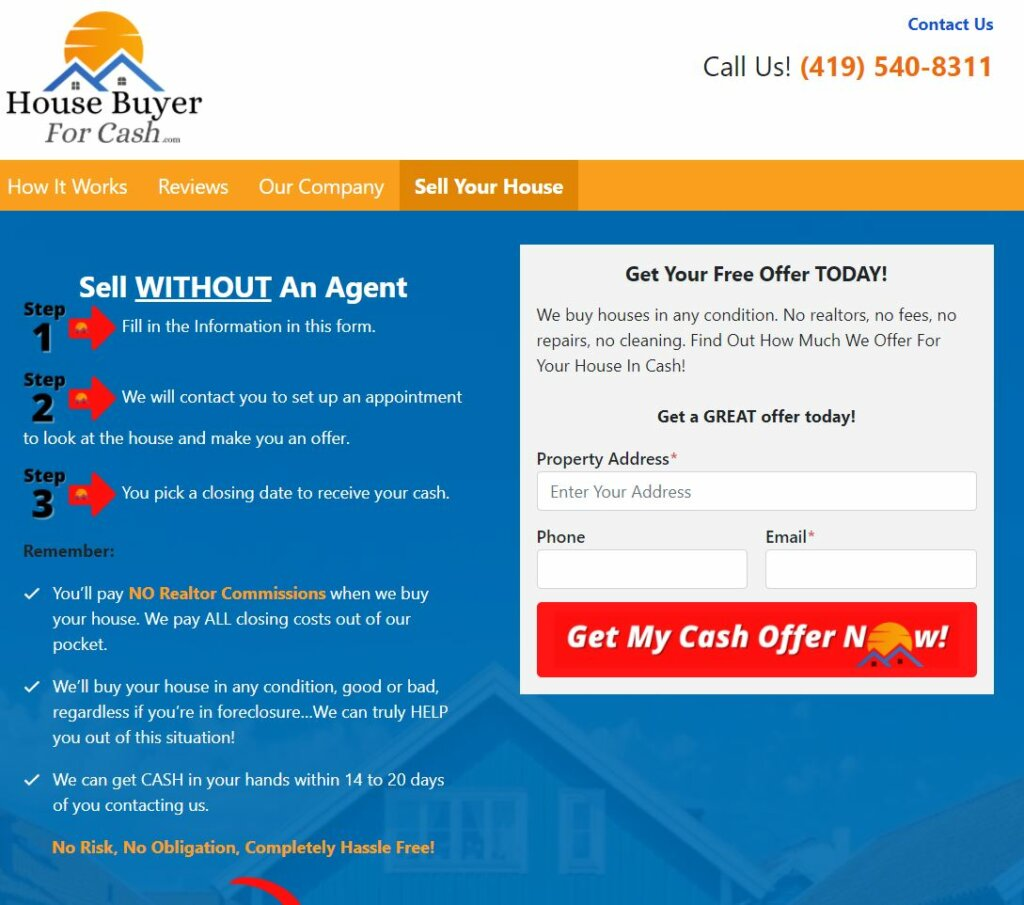 Sell your house fast without and agent