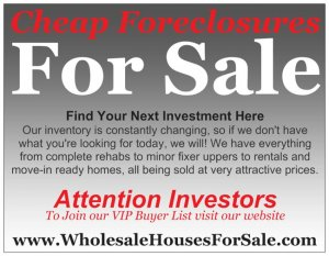 Cheap Foreclosures for sale Toledo, Oh