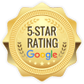 5 star Google rating