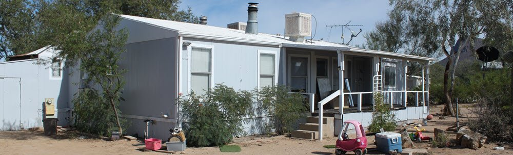 old mobile home in tucson