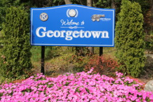 Georgetown Welcome Sign