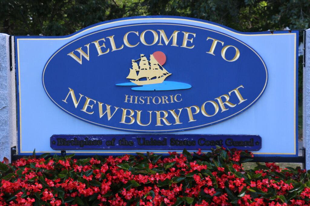 Newburyport Welcome Sign