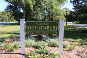 West Newbury Welcome Sign