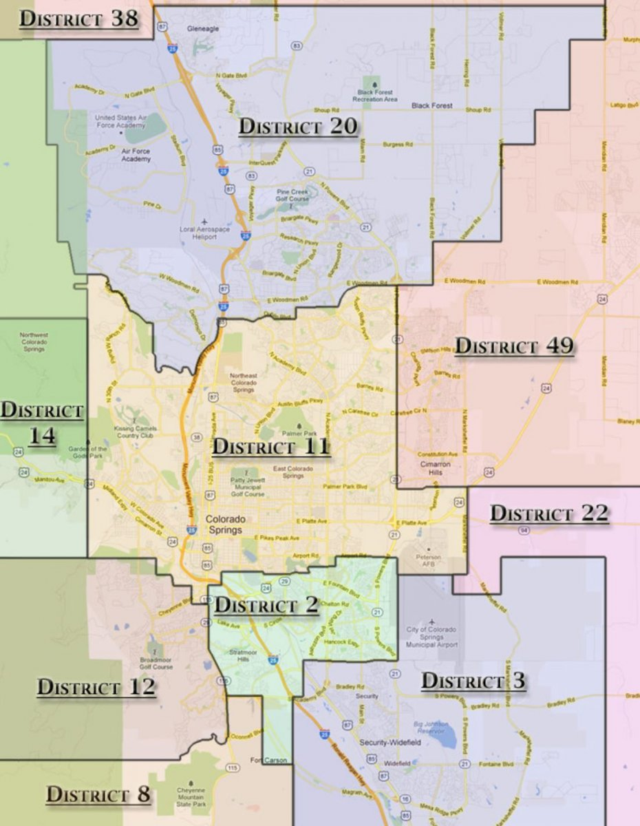 Colorado Spring School District
