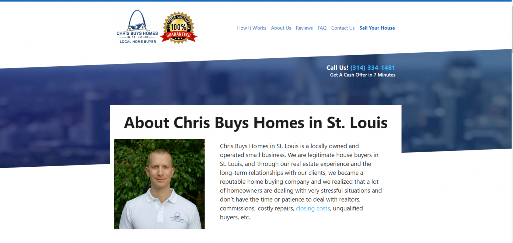 About Chris Buys Homes in St. Louis