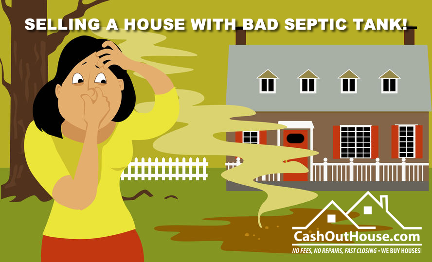 SELL HOUSE WITH BAD SEPTIC TANK
