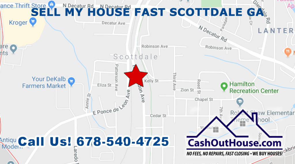 Sell my house fast Scottdale GA