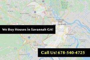 We buy Houses Savannah GA