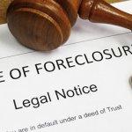 California Foreclosure Notice