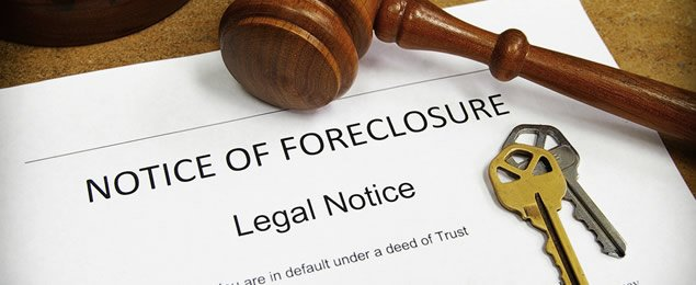 California Foreclosure Notice