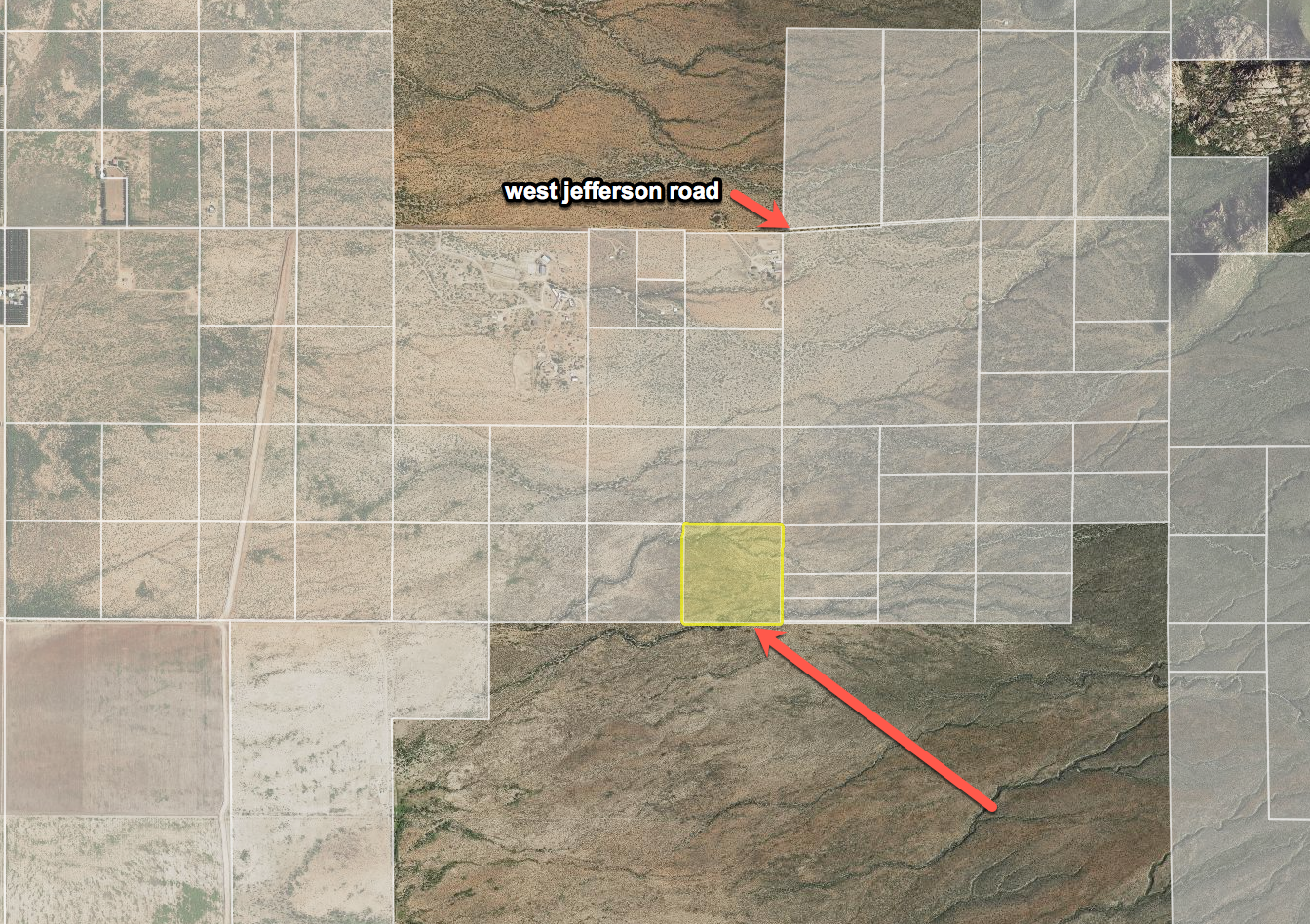 40 Acres Near the Base of Swisshelm Mountain , Cochise