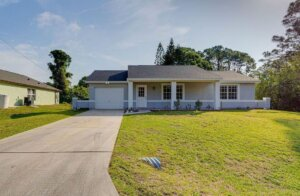 a house in palm bay florida sold with a flat fee mls listing