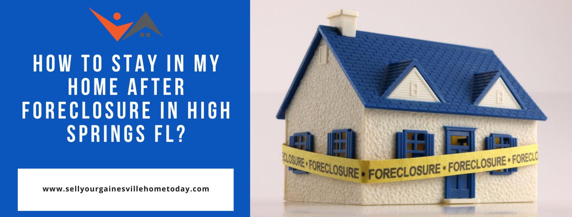 We buy properties in High Springs FL